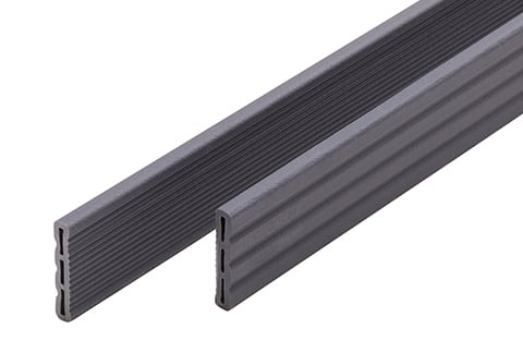 Composite decking UPM ProFi Piazza Cover Strip, Streaked Ebony