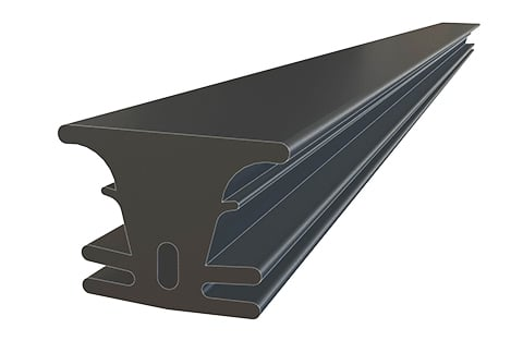 UPM ProFi Rubber Strip add-on for UPM ProFi composite decking