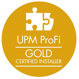 Gold level verleger | UPM ProFi